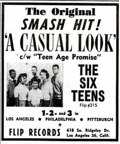 The Six Teens A Casual Look / Teenage Promise
