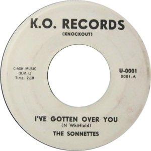 SONNETTES - 62 A
