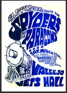 Spyders - Vallejo Vets Hall