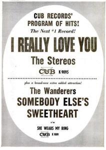 Stereos - 10-61 - I Really Love You