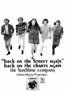 Sunshine Company - 10-67 - Back on the Street Again