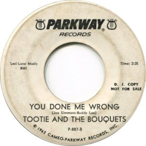 TOOTIE & BOUQUETS - 1963 B