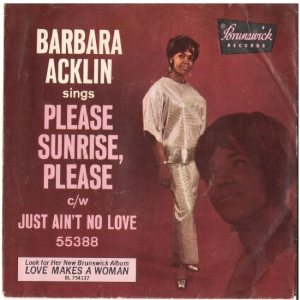 Acklin, Barbara - Brunswick - 55388 - Please Sunrise