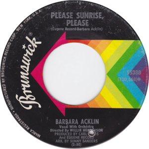 Acklin, Barbara - Brunswick - 68 a