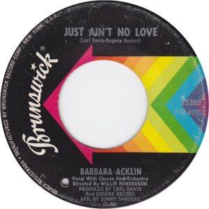 Acklin, Barbara - Brunswick - 68 b
