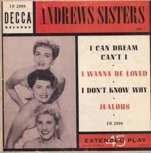 ANDREW SISTERS - 53 C