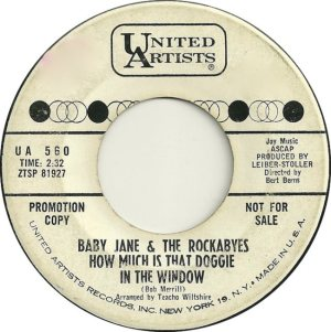 BABY JANES ROCKABYES - 63 A