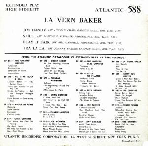 BAKER LAVERN - 56 B