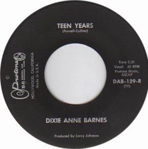 BARNES DIXIE - 62 D