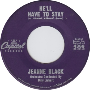 BLACK JEANNE 61 A