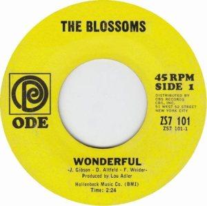 BLOSSOMS - 67 A