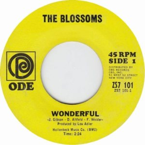 BLOSSOMS - 67 A