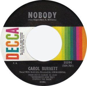 BURNETT CAROL 63