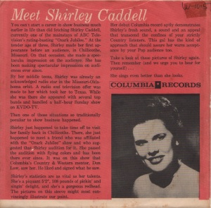 CADDILL SHIRLEY - 57 B