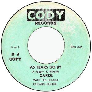 CAROL & OMENS - 60'S A
