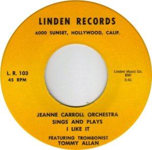CARROLL JEANNE - 60S C
