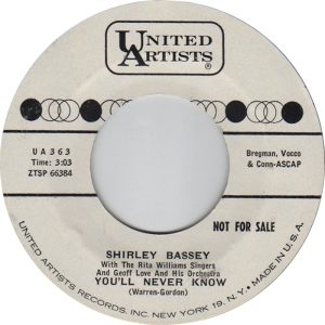 CBASSEY SHIRLEY 61 B