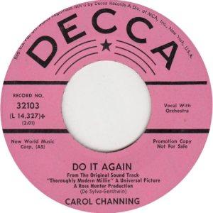 CHANNING CAROL - 67 E