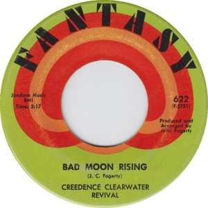 Bad Moon Rising from 1969