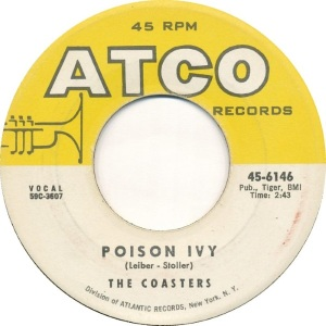 COASTERS POISON IVY