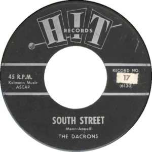 DACRONS - 1963 A