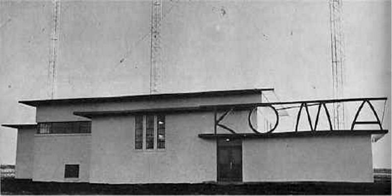 Blow Torch radio station KOMA in late 1950's