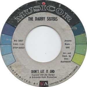 DARBY SISTERS - 61 A