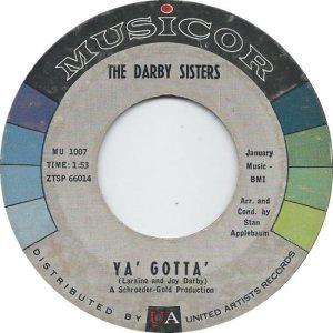 DARBY SISTERS - 61 B