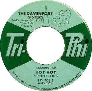 DAVENPORT SISTERS - 62 B