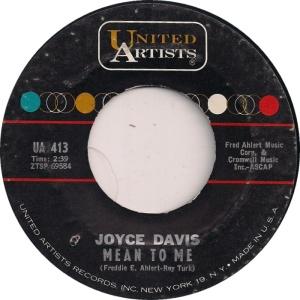 DAVIS JOYCE - 62 A