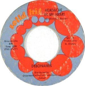 DEBONAIRES - 66 SH B