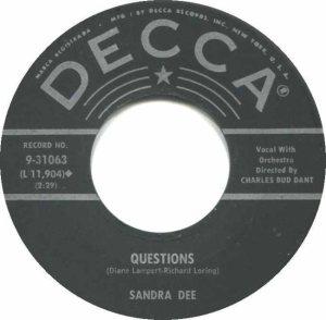 DEE SANDRA - 60 DEC 2 C