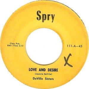 DEVILLE SISTERS - 58 A