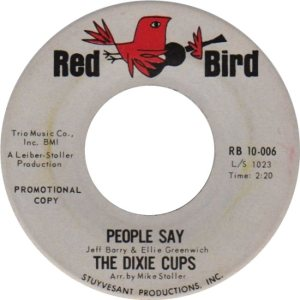 DIXIE CUPS 64 A