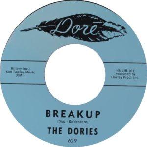 DORIES - 62 B