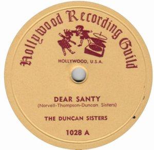 DUNCAN SISTERS - 59 C