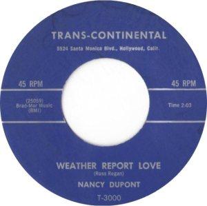 DUPONT NANCY - 59 B