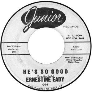 EADY ERNESTINE 63 B