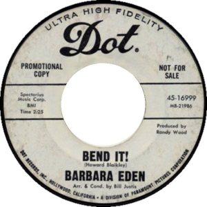 EDEN BARBARA - 67 F