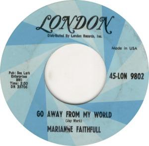 FAITHFULL MARIANNE 65 B