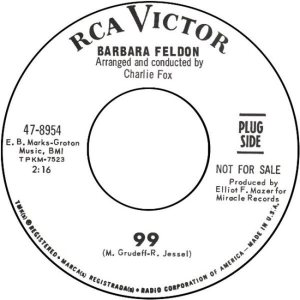 FELDON BARBARA - 66 B GET SMART