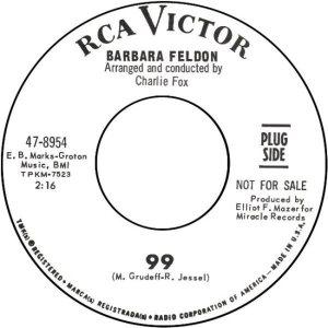 FELDON BARBARA - 66 B GET SMART