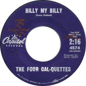 FOUR CAL-QUETTES 61 B