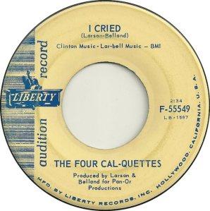 FOUR CAL-QUETTES 63 B