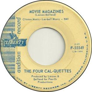 FOUR CAL-QUETTES 63