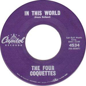 FOUR COQUETTES - 61 B