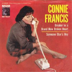 Francis, Connie - MGM 12995 - Breakin In a Brand New