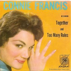 Francis, Connie - MGM 13019 - Too Many Rules