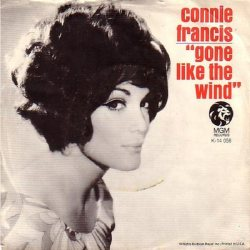 Francis, Connie - MGM 14058 - Gone Like Wind