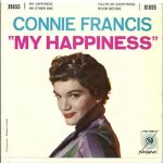Francis, Connie - MGM EP 1655 - My Happiness